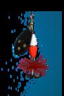 Wipp Spinn.15 g Svart HOT