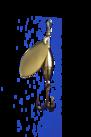 Akka Spinnare   5 gram Guld